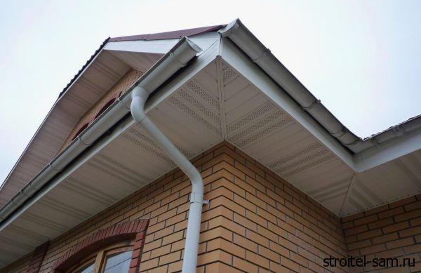Водосточная система в домах