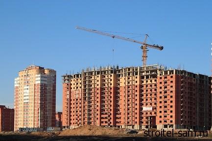 В Курской области ввод жилья вырос на 16 процентов в 2013 году