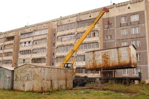 В Москве могут снести выше 2700 гаражей