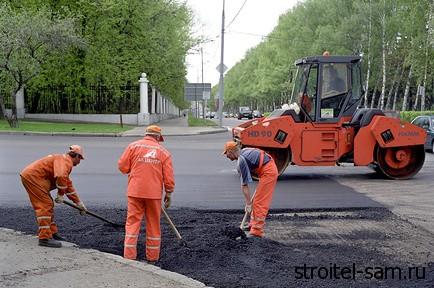 В Москве стало в десять раз меньше ям