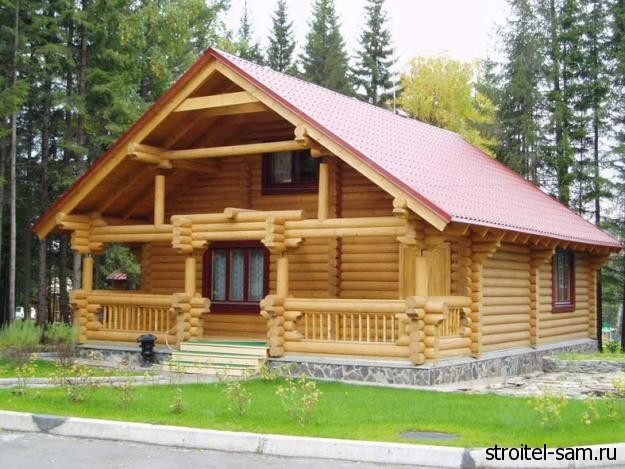Деревянный дом - надежно и просто!