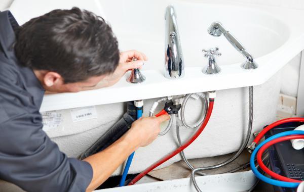 Как установить смеситель в ванную комнату