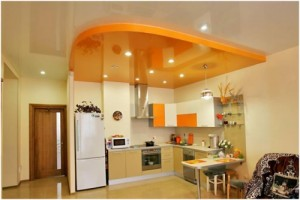 Натяжной потолок - как крепить люстру