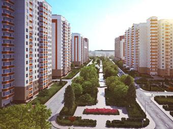 Новый жилой микрорайон Восточное Бутово