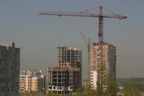 Объемы строительства жилья в России выросли на 12 процентов