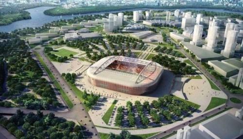 Рядом с реконструированным стадионом Лужники построят два медиацентра