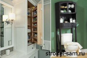 функциональная мебель для ванной комнаты