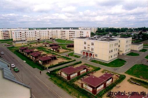 военные городки в Подмосковье