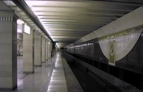 двухярусная станция метро