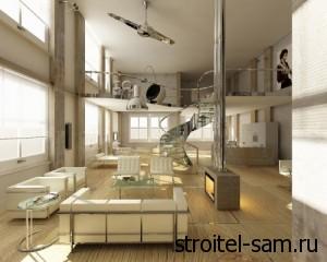 лофт-апартаменты на севере Москвы