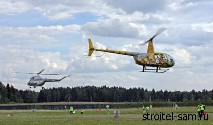 на МКАД построят 10 вертолётных площадок