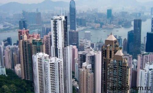 новые дома в Китае