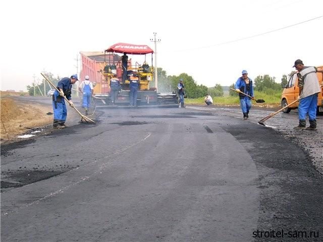 ремонт автодорог
