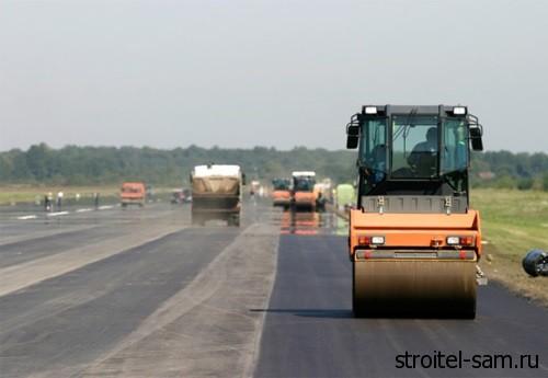 ремонт трассы в Омской области
