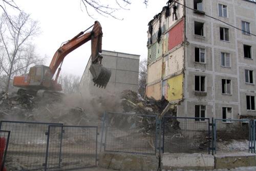 снос пятиэтажек Москва