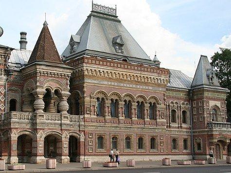 старинные здания в Москве