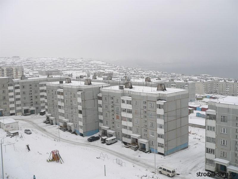 строительство недвижимости в Магаданской области