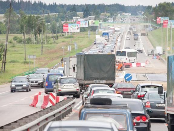 ужасный ремонт дорог в Подмосковье