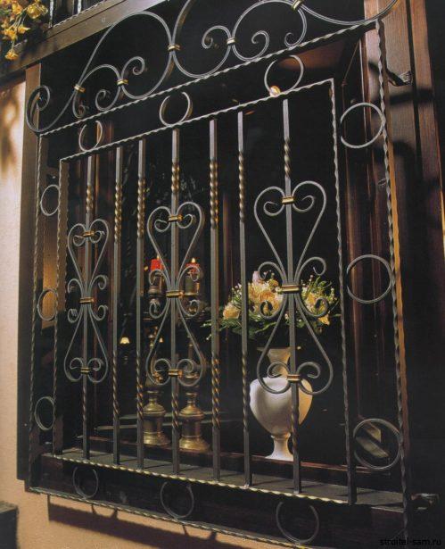 решетки на окна из кованого металла