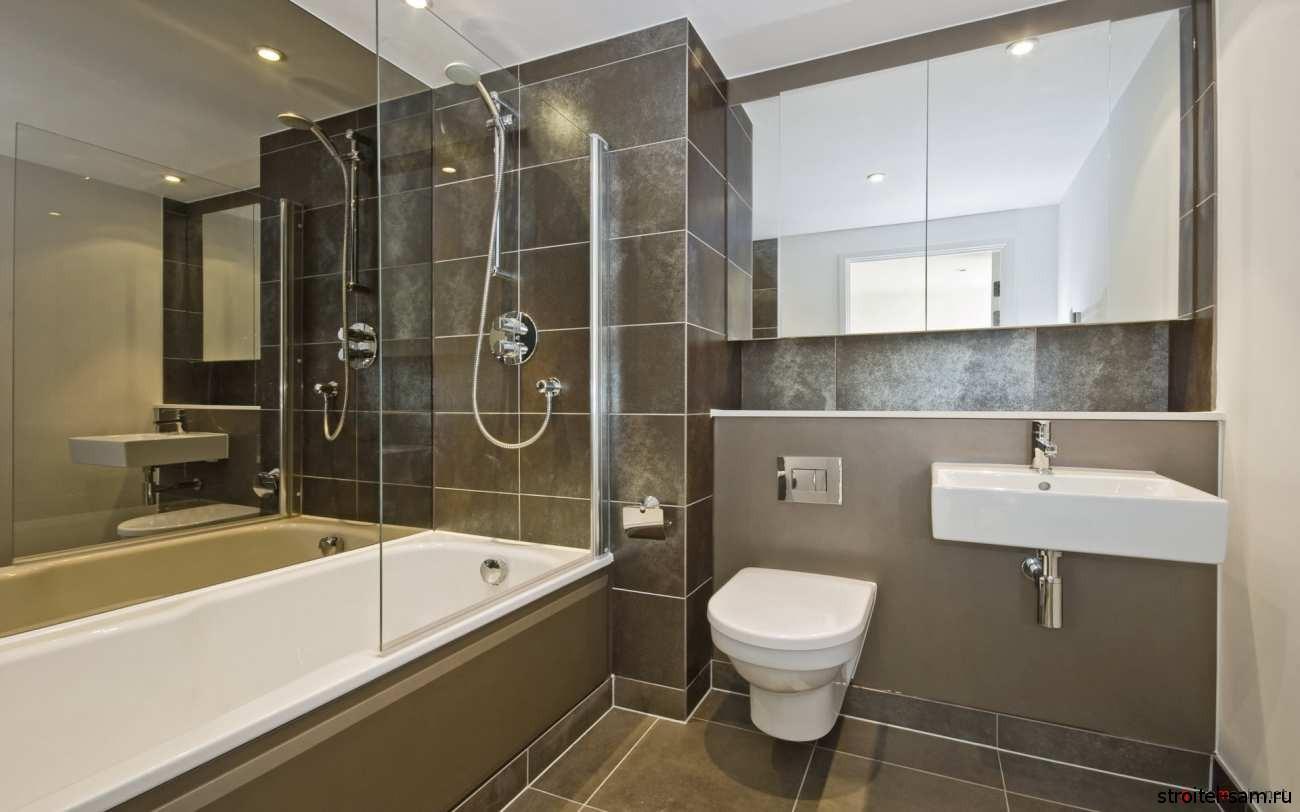 Деловой интерьер ванны