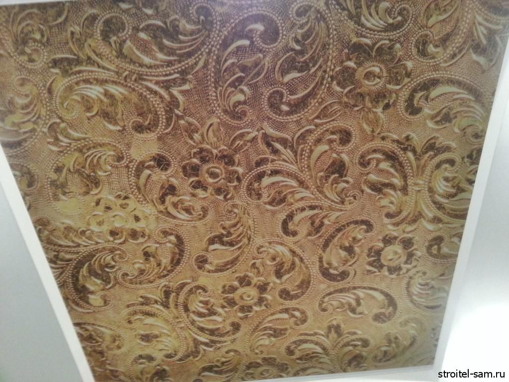 Кружевной тканевый потолок