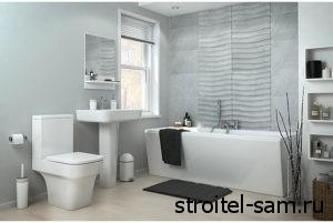 вариант интерьера ванной комнаты